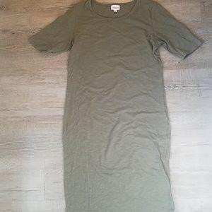 Lularoe julia tee shirt dress